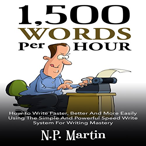 1500 Words Per Hour cover art