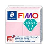 STAEDTLER FIMO Effects Polymer Clay - -Oven Bake Clay for Jewelry, Sculpting, Rose Quartz Gem 8020-206