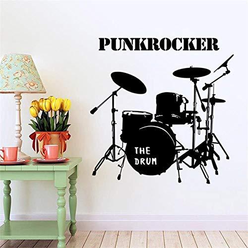 Cooldeer stickers voor aan de muur, decoratief en milieuvriendelijk, afneembaar, werkt op batterijen, jazz