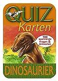 Quizkarten Dinosaurier. 100 spannende Fragen und Antworten (Geschenkartikel)