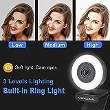 Immagine 1 webcam per pc con luce