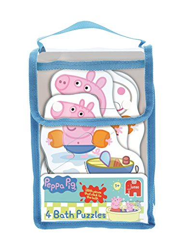 Jumbo Games Peppa Pig 4-in1 Bath Time Jigsaw Puzzles