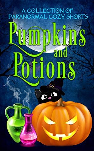 Pumpkins and Potions: A Paranormal Cozy Mystery Halloween Anthology by [Tegan Maher, Misty Bane, Regina Welling, Leighann Dobbs, Ava Mallory, Stephanie Damore, Constance Barker, M.Z. Andrews, Mona Marple, Elle Adams, Samantha Silver, April Aasheim, Amorette Anderson, Jenna St. James, Nikki Haverstock, K.M. Waller]