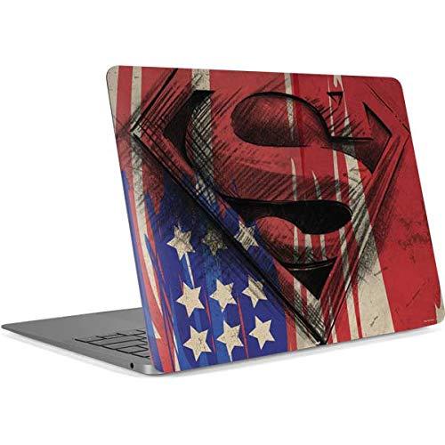Skinit Decal Laptop Skin for MacBook Air 13in Retina (2018-2019) - Officially Licensed Warner Bros Superman Crest Design