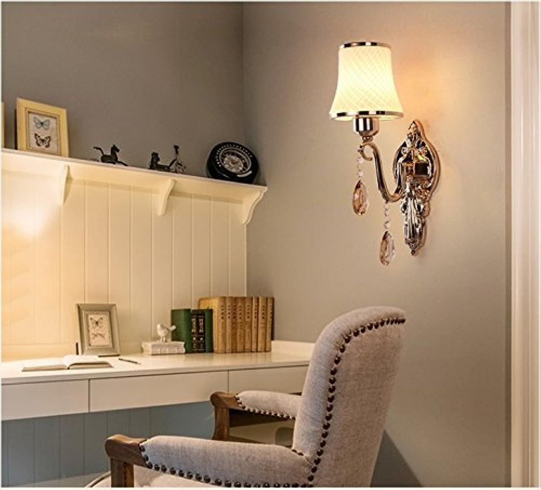 Wand Lampe Nachttischlampe Schlafzimmer Einfache und moderne Wohnzimmer Balkon Licht Treppe Gang Wandleuchte, 1 Kopf