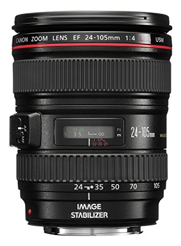 Canon 344B006 EF 24-105mm f/4.0 L IS USM Lens (Generalüberholt)