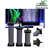 Venus Aqua Air Stone Bubble Diffuser Aquarium Air Stones Cylinder Shape with 2