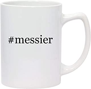 #messier - 14oz Hashtag White Ceramic Statesman Coffee Mug