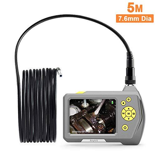 strumento di rimozione del cerume per OTG telecamera di ispezione con 6 luci a LED Endoscopio digitale per orecchio ottoscopio USB Mac e Linux microscopio auricolare 3 in 1 Android Windows