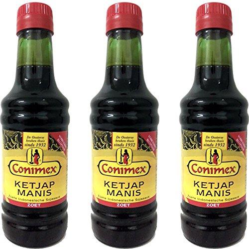 Conimex Ketjap Manis 3 x 250ml Flasche