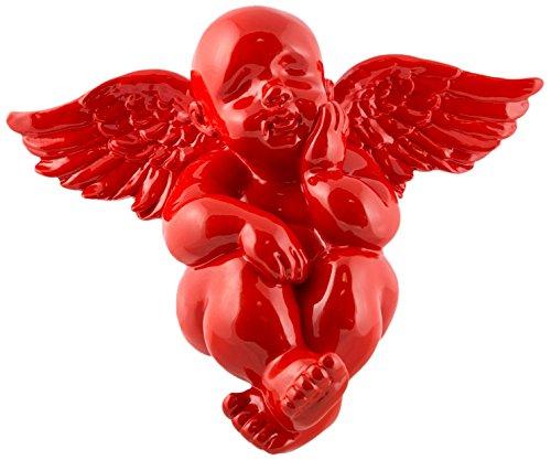 fisura. Fissure-Décoration Murale Gabriel résine Rouge
