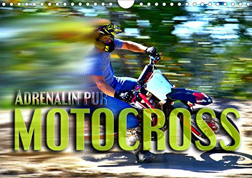 Motocross - Adrenalin pur (Wandkalender 2021 DIN A4 quer)