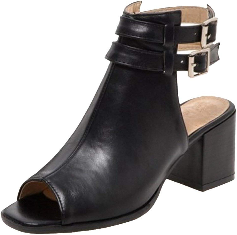 Unm Women's Block Heel Sandals shoes