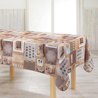 Arte Provenzale TOVAGLIA ANTIMACCHIA Dis.Esprit D'ANTAN Rettangolare, per Sala da Pranzo e Cucina (300_x_150_cm)