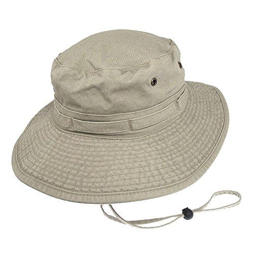 Village Hats Chapeau Bob Boonie Pliable en Coton Mastic - Medium