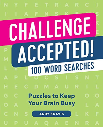 Compare Textbook Prices for Challenge Accepted!: 100 Word Searches Large Print Edition ISBN 9781641524582 by Kravis, Andy