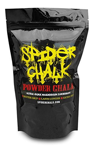 Weight Lifting Chalk Powder, Premium Loose Workout Sport Chalk for Rock Climbing, Cross Fitness Training, Gymnastics, Spider Chalk Grip Enhancer, 99% Pure Powdered Magnesium Carbonate Made in the USA