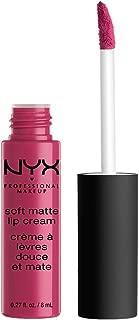 NYX Professional Makeup Soft Matte Lip Cream, High-Pigmented Cream Lipstick in Prague