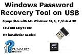 Windows Mot De Passe Réinitialiser / Effacer / Reset / Recovery Clé USB - Compatible Avec Tous Les...