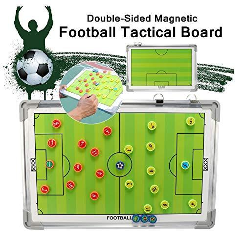 WANGYONGQI Voetbal Tactische Board Whiteboard Pens Gum 26 Aantal Magneten Met Hangende Haken voor Gebruik op Pitch Side Draagbare Bump-proof
