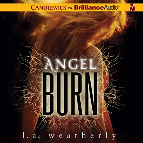 Angel Burn audiobook cover art