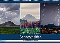 Schachtanlagen in Mansfeld Suedharz (Wandkalender 2022 DIN A2 quer): Schachthalden und Wahrzeichen aus der Region Mansfeld Suedharz (Monatskalender, 14 Seiten )