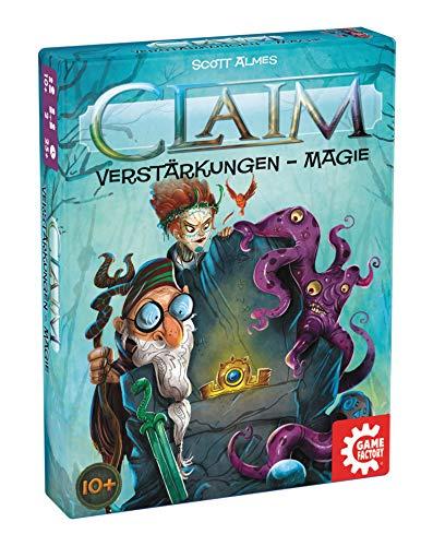 Game Factory 646261 Claim, Kartenspiel, Stichspiel Erweiterung, Verstärkung Magie