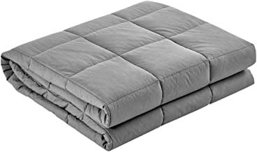 Giselle Bedding 7KG Microfibre Weighted Gravity Blanket Relaxing Calming Adult Light Grey