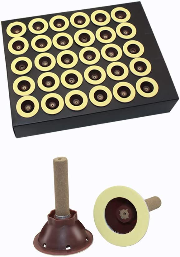 Moxa Sticks - Trust 60 Pcs Pure Cone Max 65% OFF Self-Adhesive Base Or with