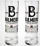 2 x bicchieri Bulmers pinta sidro (2 bicchieri).