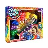 hi!SCI Tie-Dye Machine Kit for Kids,Non-Toxic All-in-1 DIY Fashion Dye Kit, Kids Party Cre...