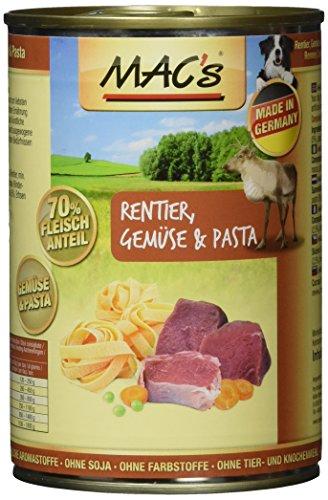 MAC\'s Rentier, Gemüse & Pasta, 6er Pack (6 x 400 g)