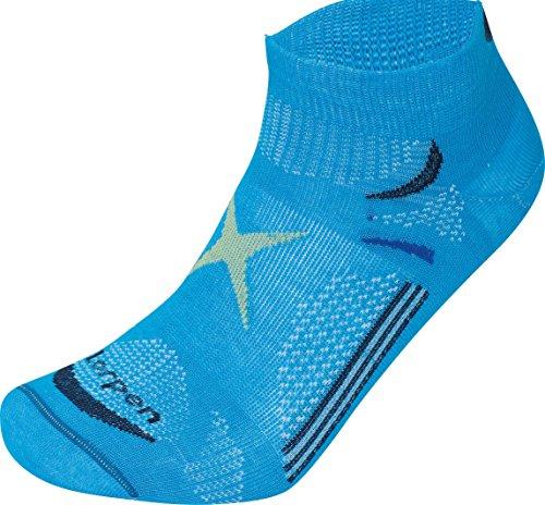 Lorpen Herren T3 Ultra Light Mini-Socken, Herren, leuchtendes Blau, X-Large