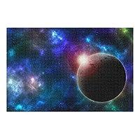 MAKIKU 500ピース ジグソーパズル 38*52cm 宇宙 コスモ ブルー