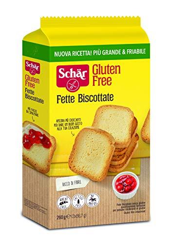 Dr. Schar Biscotes Pan Tostado sin Gluten, 260g