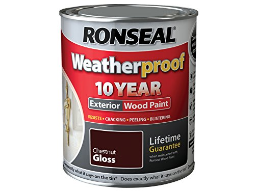 Ronseal RSLWPCNG750 Weatherproof 10 Year Exterior Wood...