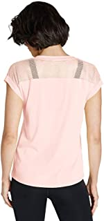 Rockwear Activewear Women's Logo Front Mesh Tee from Size 4-18 for T-Shirt Tops