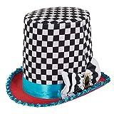 """Bristol Novelty BH652 Hut von """"Der Hutmacher"""" mit Schachmuster, verschiedene Farben,..."""