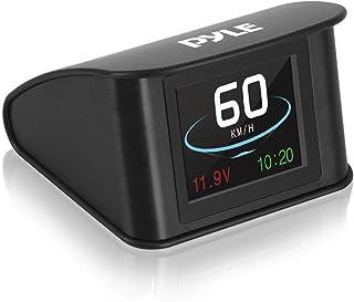 "Universal Vehicle Smart HUD Display - 2.6"" Digital Mini Car Dashboard Heads Up Windshield Speedometer Projector System w/ ..."