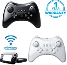 EDTara Wireless Classic Pro Controller Joystick Gamepad for Nintend wii U Pro with USB Cable