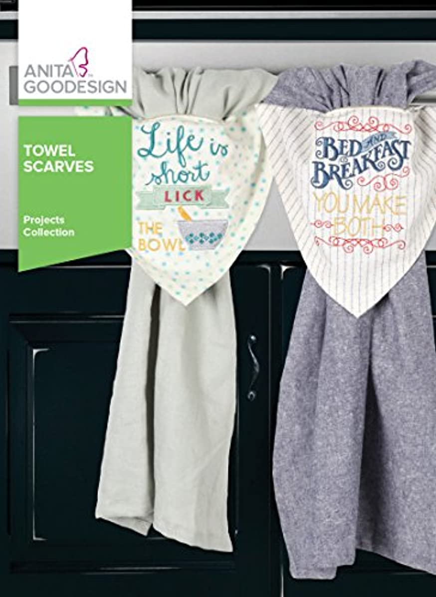 Anita Goodesign Embroidery Designs Towel Scarves