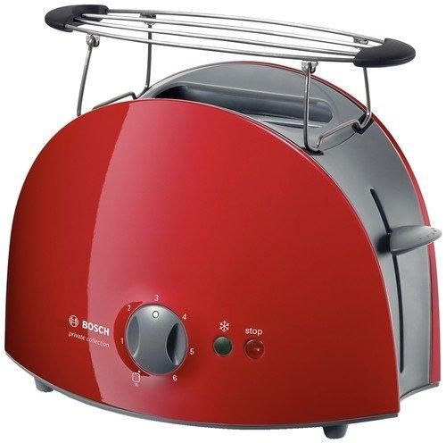 Bosch TAT6104 - Tostador, color rojo