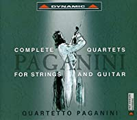 Paganini: The Complete Quartets for Strings and Guitar (Box Set)