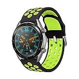 AOTVIRIS Compatibile con Cinturino Huawei Watch GT 2 46mm/Huawei GT 2e/Huawei Watch GT Sport/Active 22mm Braccialetto Silicone Cinturini Banda Polsino per Galaxy Watch 46mm/Gear S3