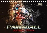 Paintball - extrem cool (Tischkalender 2022 DIN A5 quer): Paintball - Action, Spass und Spannung in spektakulaeren Bildern. (Monatskalender, 14 Seiten )