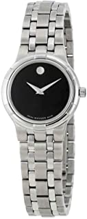 Women's Metio Black Dial Stainless Steel