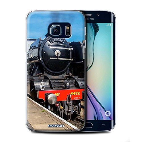 STUFF4 Telefoonhoesje/Cover voor Samsung Galaxy S6 Edge+/Plus/Scotsman/Platform Design/Steam Locomotive Collection
