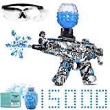 Electric Gel Blaster Toy Gun-MP5,with 15000 Non-Toxic,eco-Friendly,Biodegradable Gellets, Outdoor Yard Activities Shooting Game (Ages 8+)