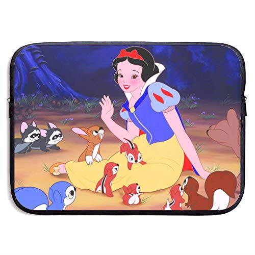 White Snow and Seven Dwarfs Laptop Sleeve Bag 13 inch Computer Case Tablet Briefcase Ultra Portable Protective