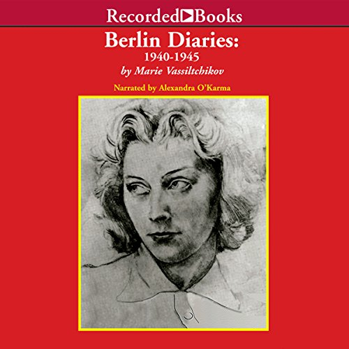 Berlin Diaries audiobook cover art